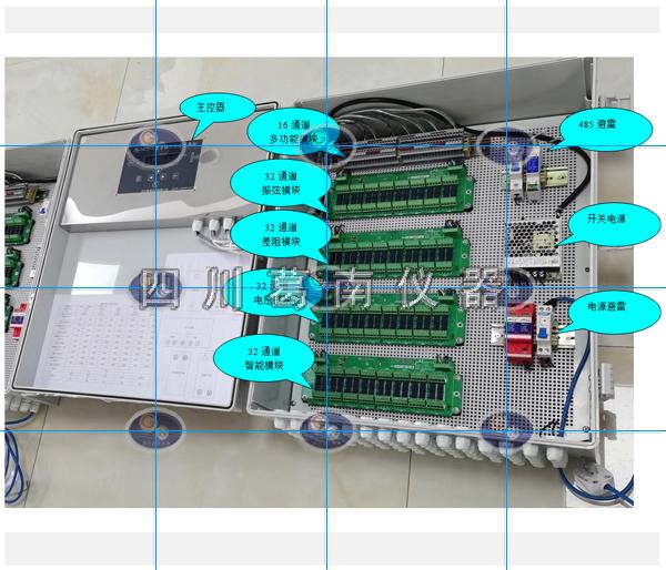 MCU-X型自动化综合采集仪(144通道/72支频率+温度)
