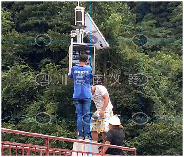 四十余座小型水库动态预警监测系统水雨情设备安装
