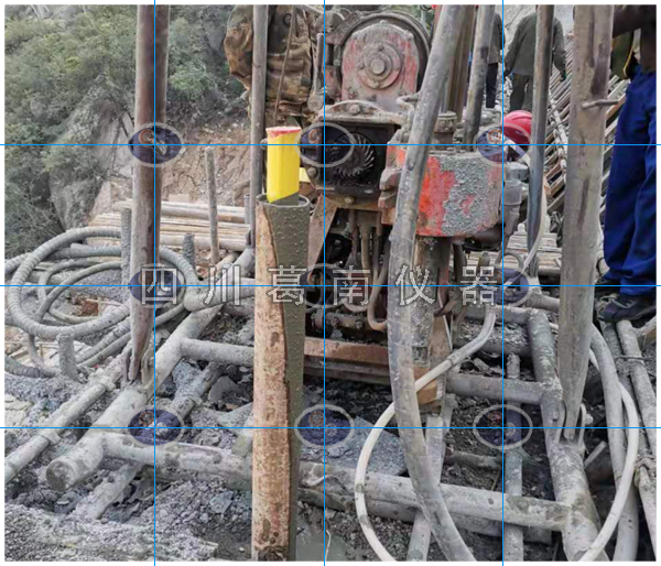 水电站高边坡测斜管的安装方法