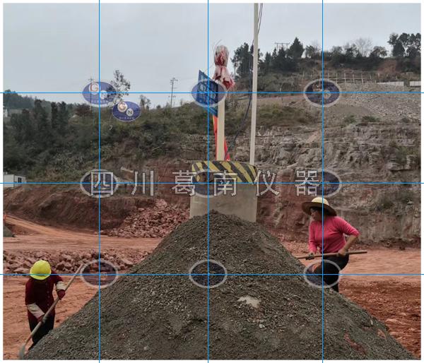 土石坝施工期测斜管和测压管埋设方法