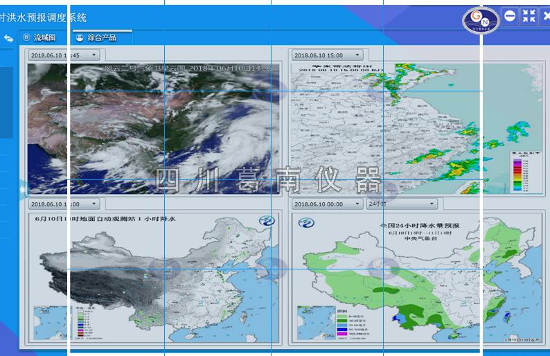 【四川葛南仪器】水库实时洪水预报调度系统