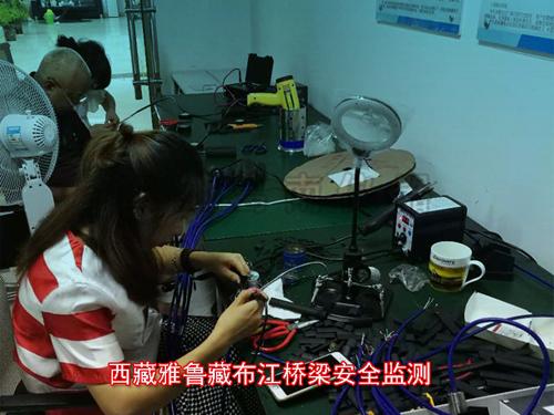 为雅鲁藏布江桥梁安全监测提供大量四川葛南制造监测仪器