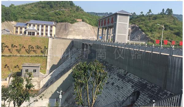 重庆市的重点水利建设工程苟溪桥水库大坝安全监测仪器顺利通过蓄水验收