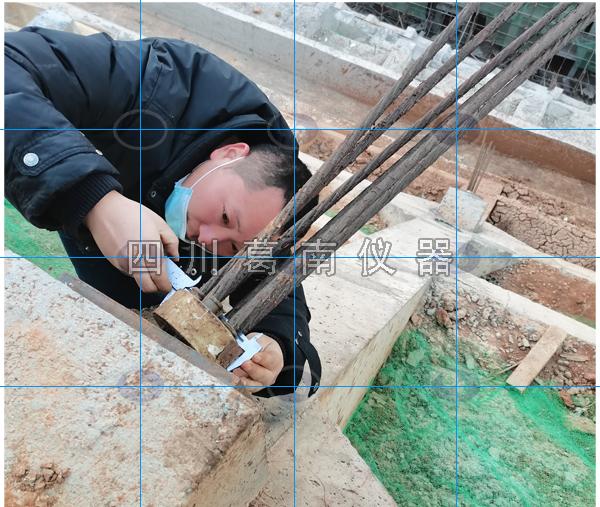 四川葛南专业技术人员深入现场进行技术复核