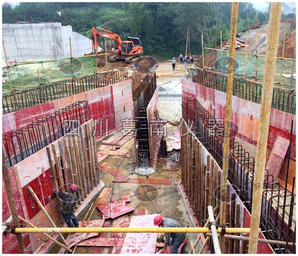 广西大型调水工程安全监测仪器埋设及安装
