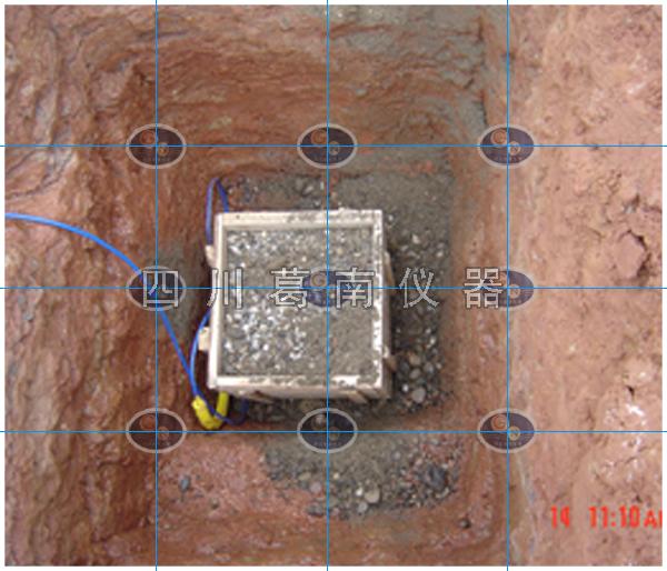 2002年中江黄鹿水库安全监测仪器埋设