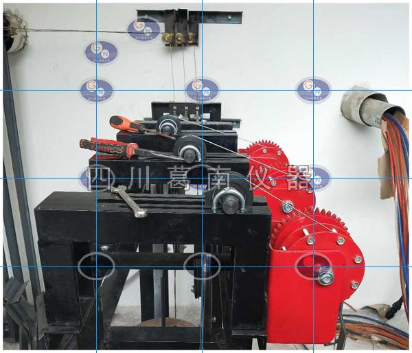 钢丝水平位移计与水管式沉降仪安装现场