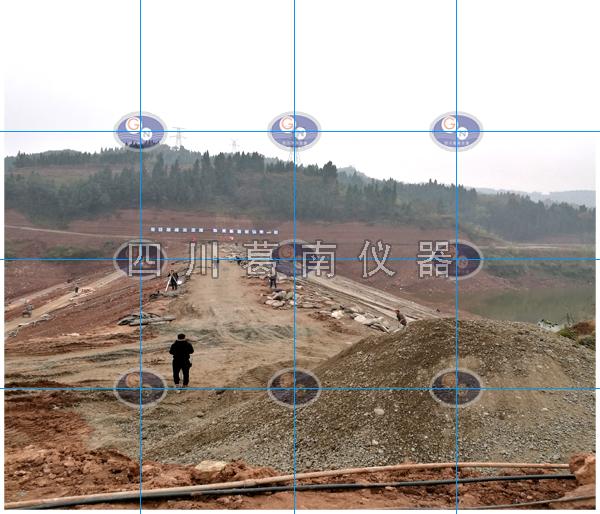 南充市嘉陵江区文家沟水库土石坝安全监测仪器埋设