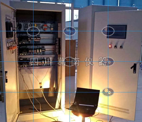 双控闸门启闭系统PLC控制柜组装中