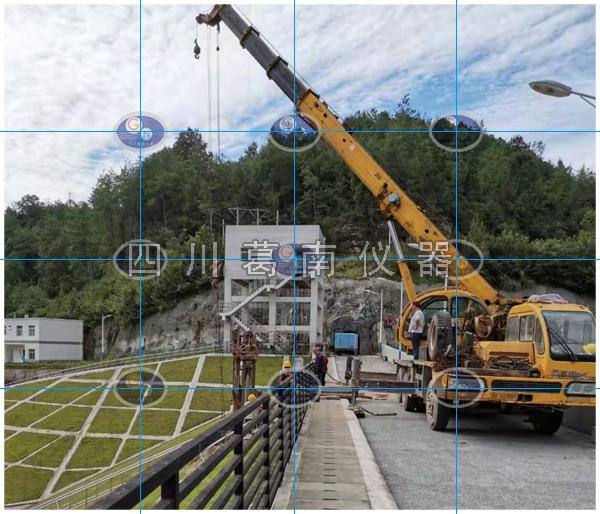 水库大坝安全监测仪器补安装方法