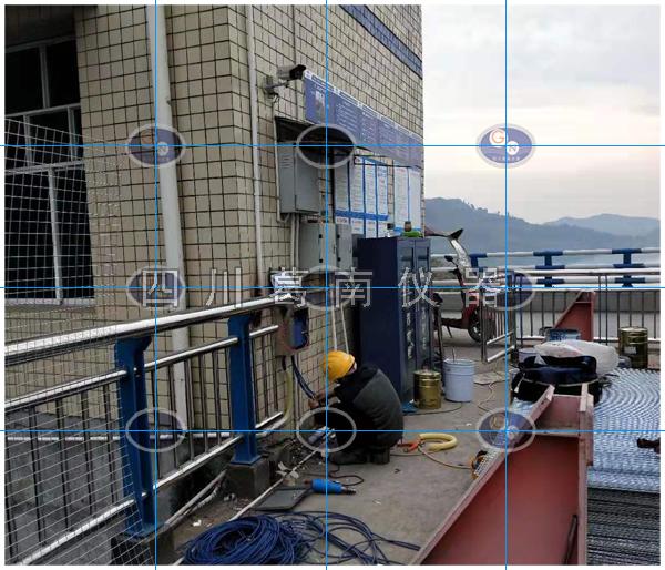 富金坝航电枢纽安全监测仪器埋设及安装
