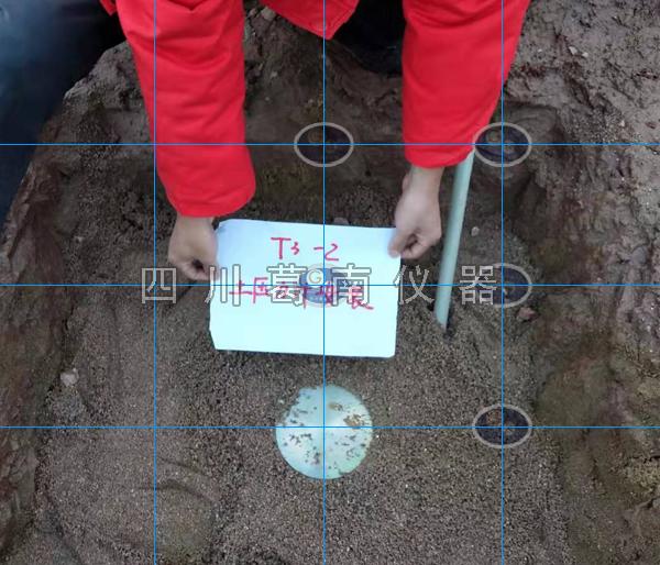 闸坝渗压计和土压力计埋设及安装图片参考