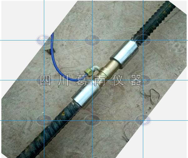 钢筋计与被测钢筋的连接方法