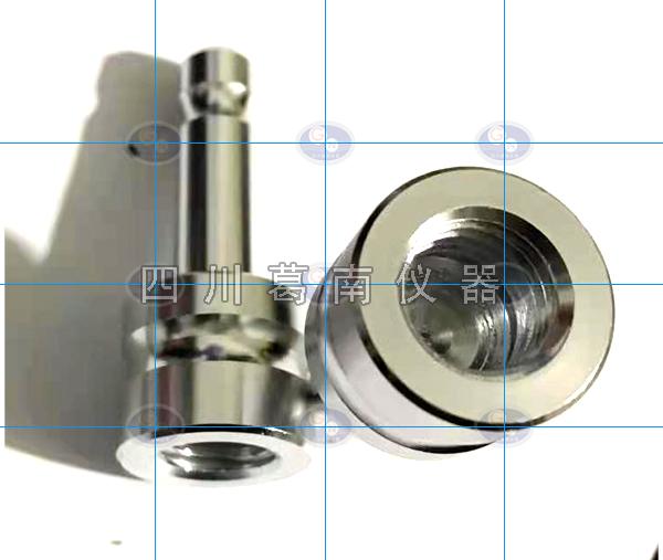 【四川葛南仪器】定制加工不锈钢导线、L型长沉降标杆、沉降标点、徕卡转接头、纯铜导线点、沉降观测标
