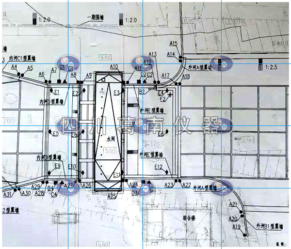 福建水闸工程安全监测仪器埋设及安装