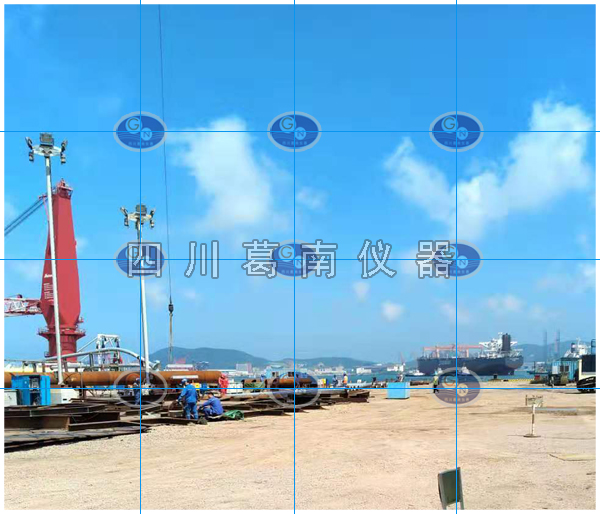 海上升压站钢板计监测安装方法