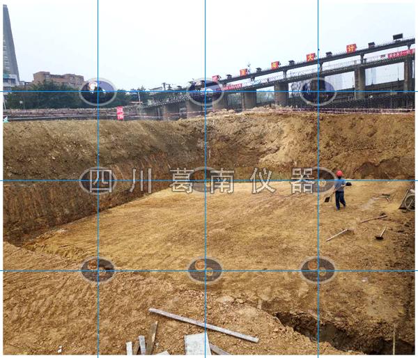 中型水闸安全监测仪器埋设及安装(2020年2月四川葛南)