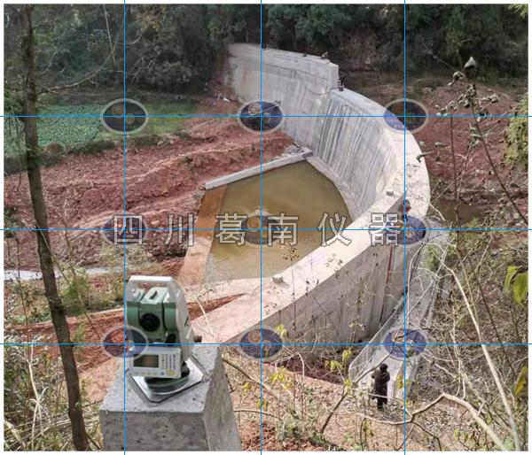 拱坝视准线观测方法