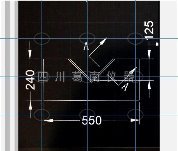 550-240量水堰板