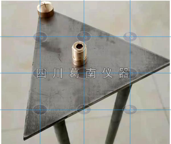 【四川葛南仪器】不锈钢三角沉降位移工作基点