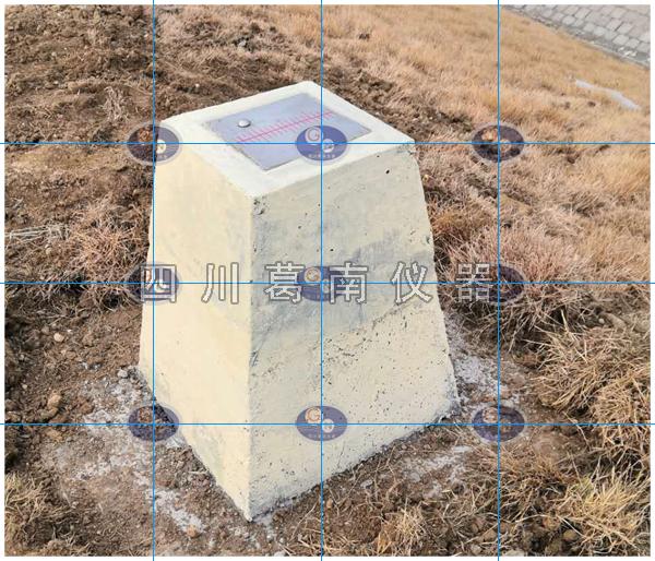 十字准线盘用于视准线沉降位移观测