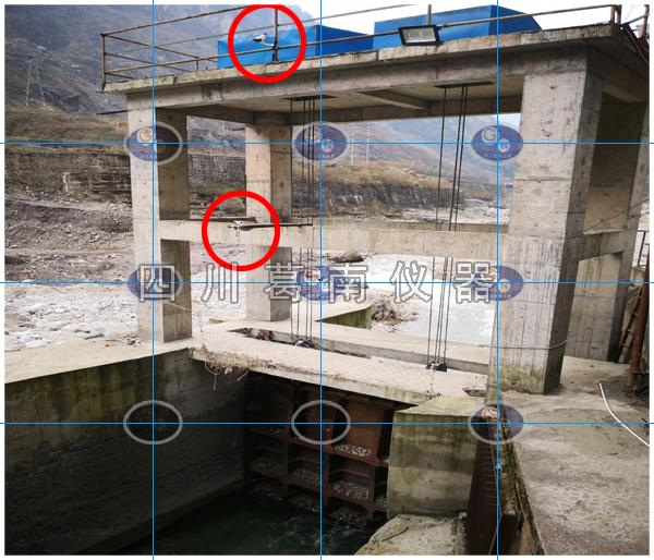 水电站下泄生态流量在线监测系统安装现场展示之一