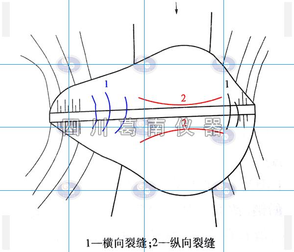 水库纵向与横向裂缝理解方法