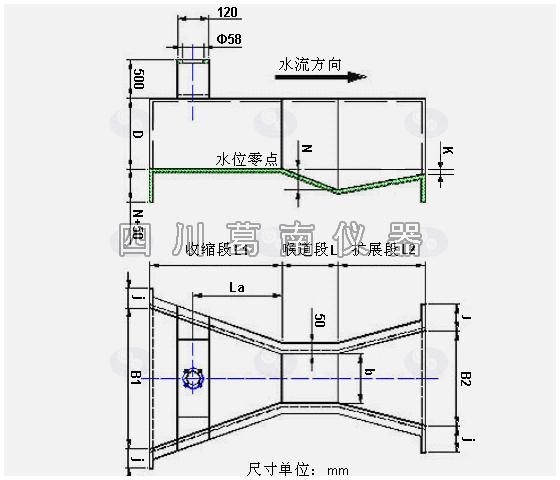 LSY系列巴歇尔槽设计与制作