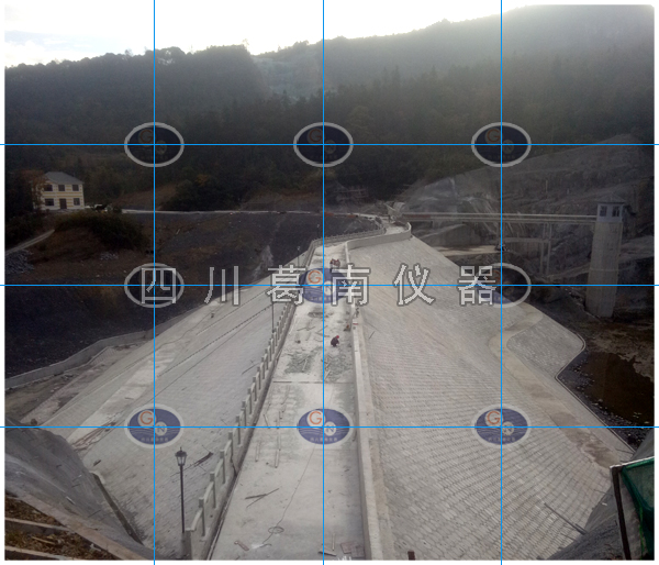 重庆武隆县河心水库大坝安全监测仪器埋设及安装
