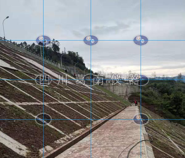 水库坝坡视准线监测和渗流监测