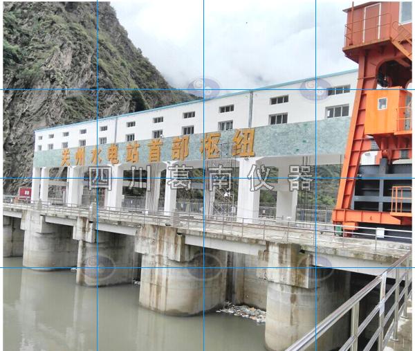 四川省甘孜州丹巴县关州水电站土建安全监测仪器埋设及安装