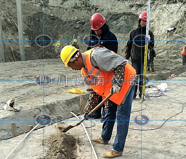 排灌泵站安全监测仪器埋设及安装