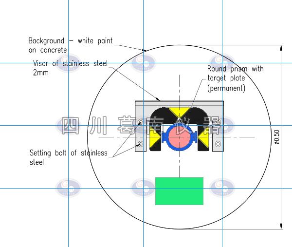 国外项目应用徕卡棱镜沉降位移观测
