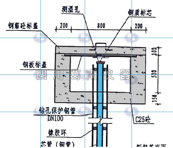水准圆点——大坝安全监测双金属标施工与观测