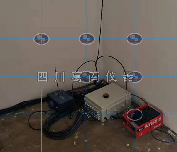 施工条件下四川葛南遥测MCU和手动集线箱有效地结合,达到实时监测和人工巡检目的
