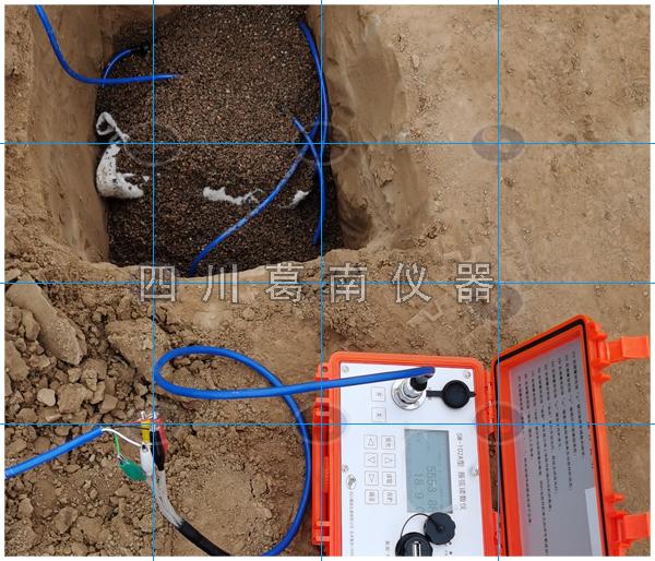 水库坑埋亚博验证安装过程图解