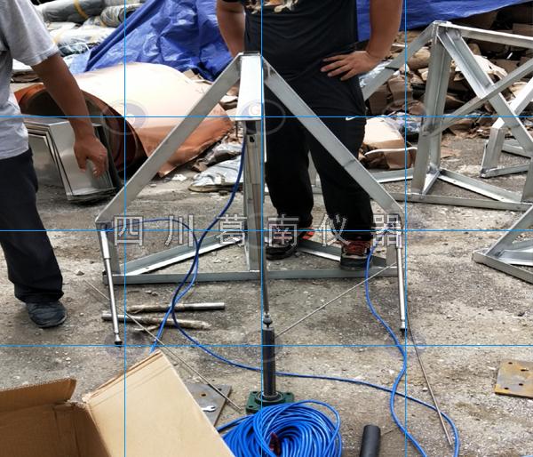 三向测缝计面板支架定制加工