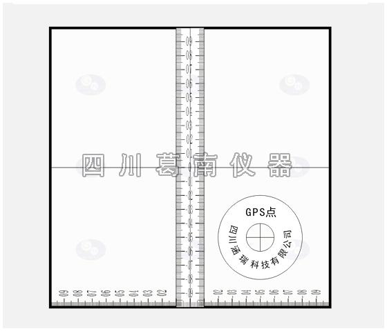 LD-8DI型十字标盘(十字准线盘)
