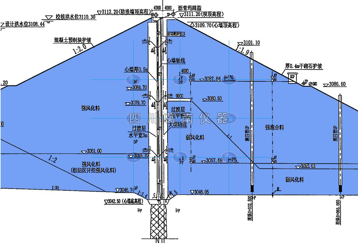 水库大坝沥青混凝土心墙施工技术