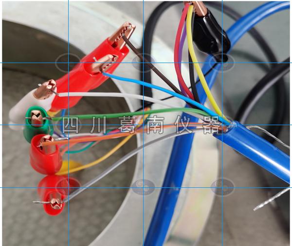 多弦锚索测力计测量接线示意图(仅用于四川葛南仪器锚索测力计)