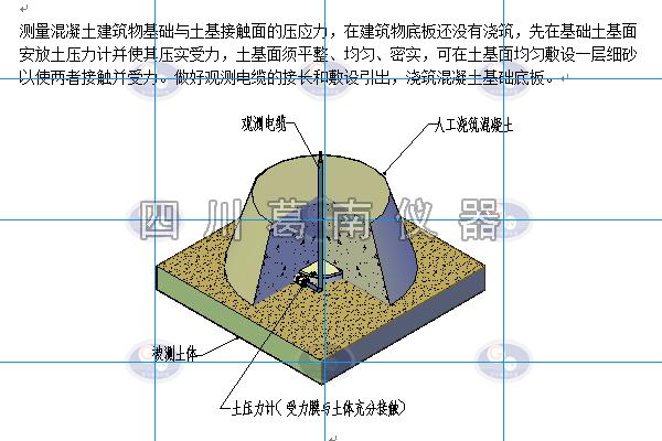 土压力计安装方法与土压力计安装考证表