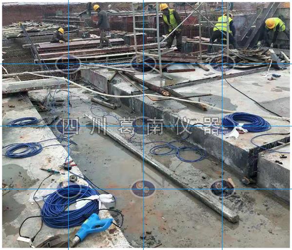水闸安全监测仪器埋设施工