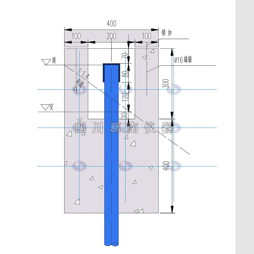 测压管孔口装置及测压管布点图