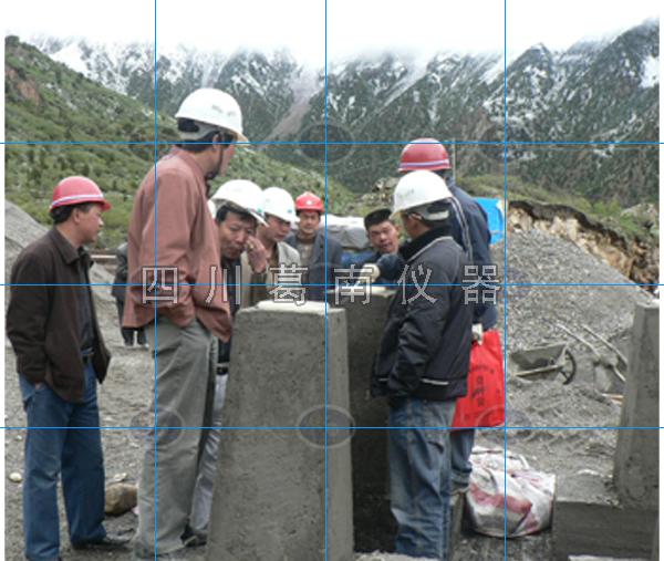 西藏那曲水库大坝安全监测仪器埋设及安装