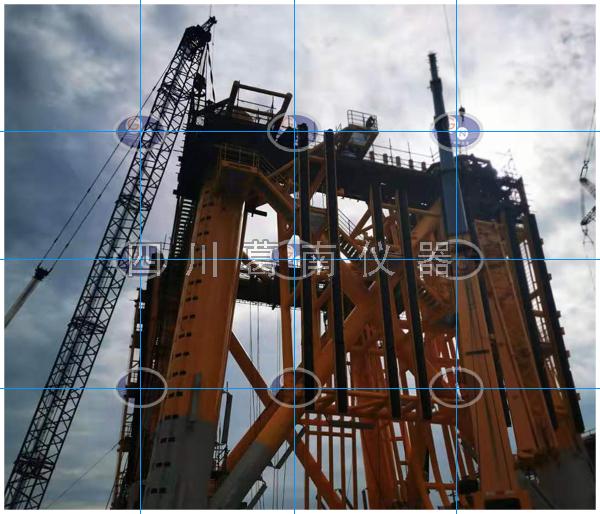 海上风机平台安全监测仪器安装