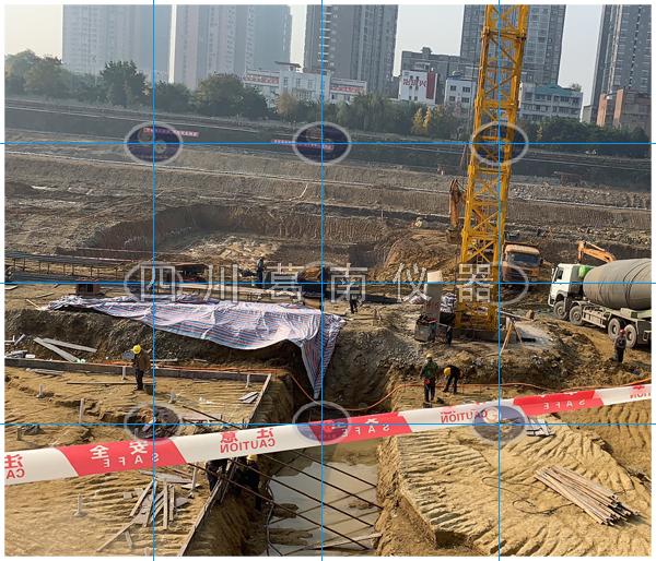 城内水闸建设安全监测仪器埋设及安装