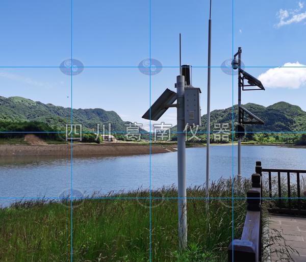 水库三要素(水位和雨量和图像)三者为一体展示