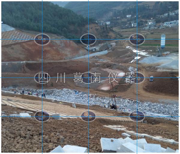 云南鲁甸县滴水海子水库大坝安全监测仪器埋设安装