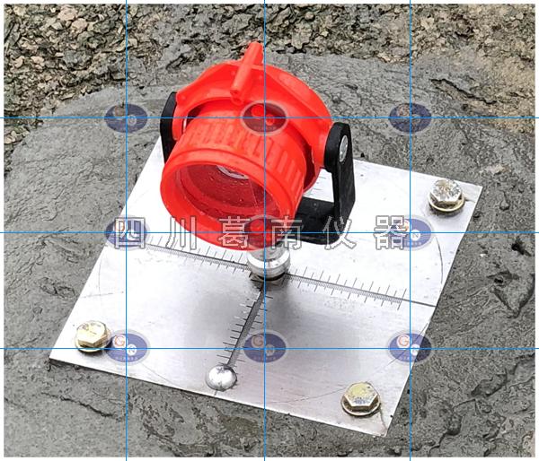 沉降位移观测点安装