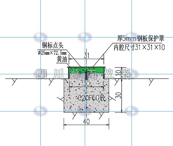 起测基点与外部变形观测精度分析
